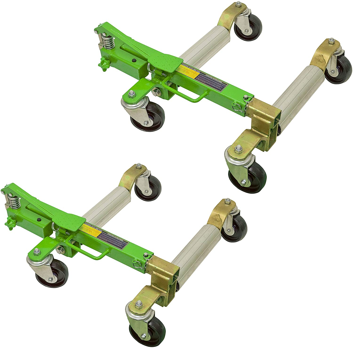 OEM TOOLS 24855TWO Vehicle Position Jack, 2 Pack (1500 lbs)