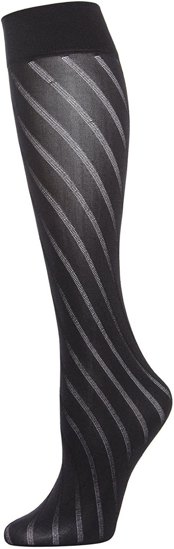 MeMoi Spiral Opaque Trouser Sock