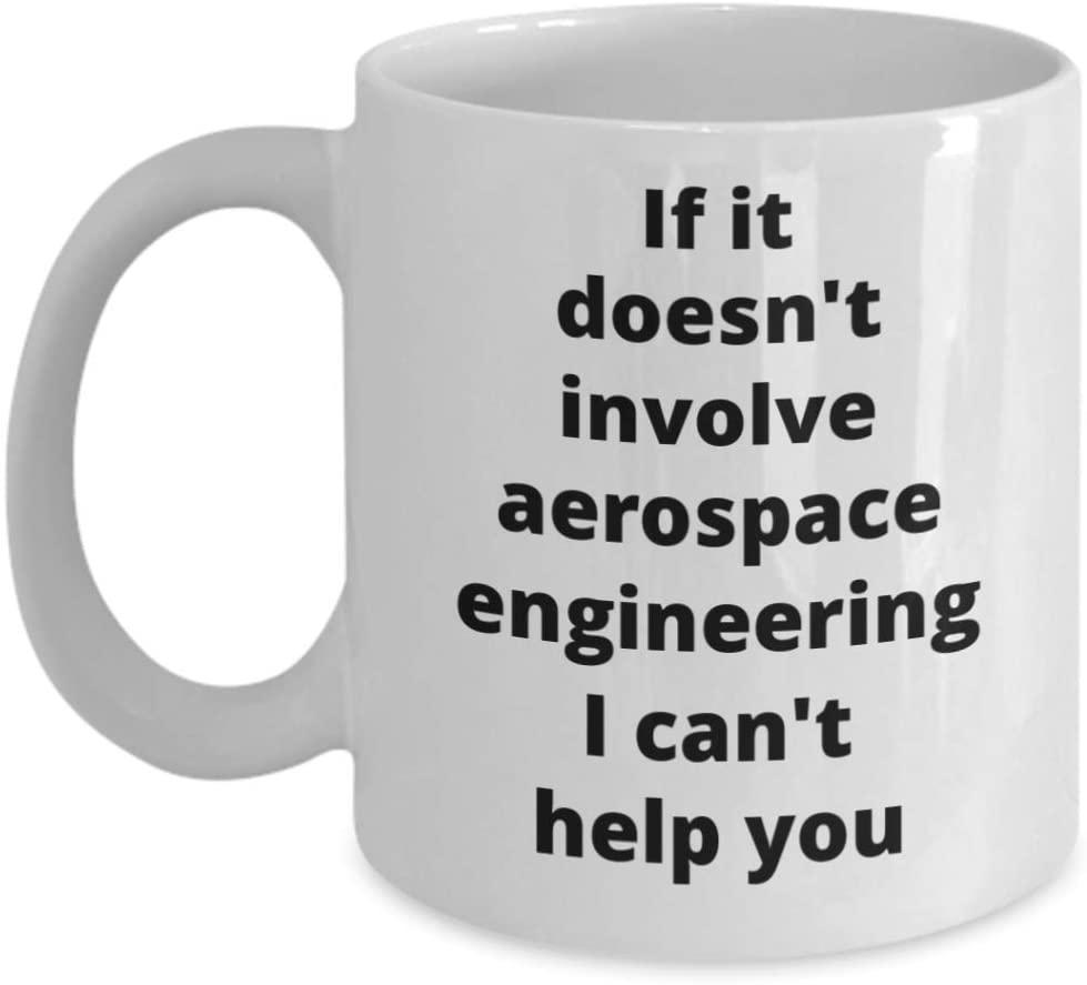 Aerospace Engineer Coffee Mug Funny Gift Idea for Dad Grandpa Son Daughter Coworker Boss