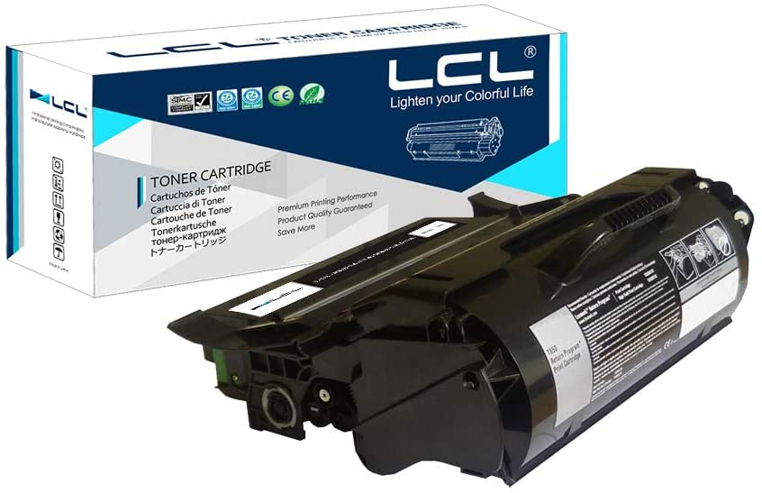 LCL Remanufactured Toner Cartridge Replacement for Lexmark X651A11A X651A21A X651de X652de X654de X656de X658de X651de X652de X654de X658dte (1-Pack Black)