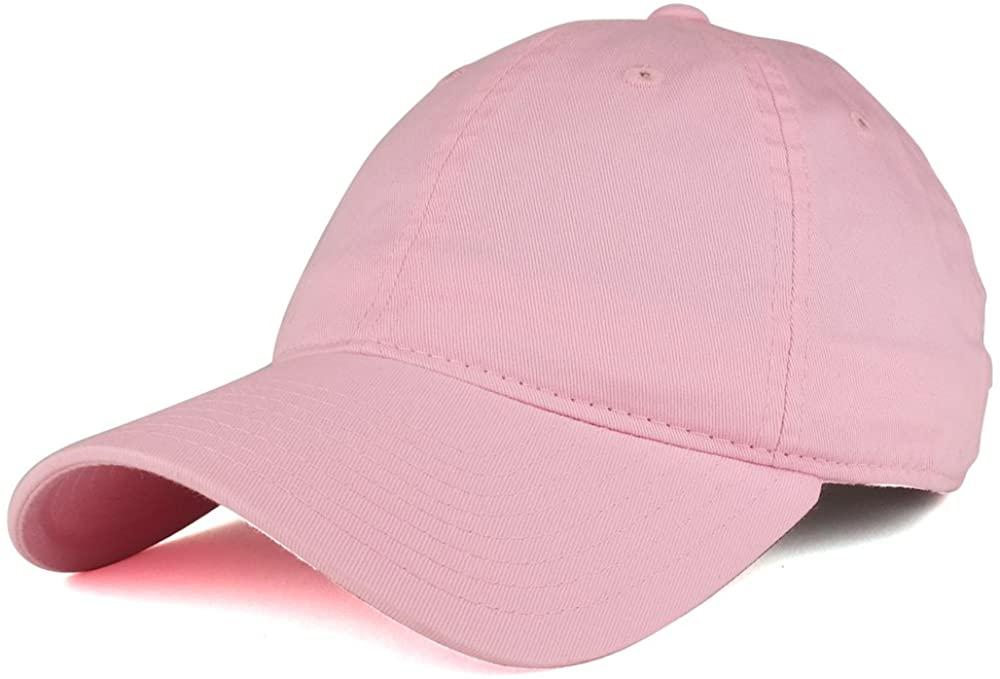 Low Profile Vintage Washed Cotton Baseball Cap Plain Dad Hat