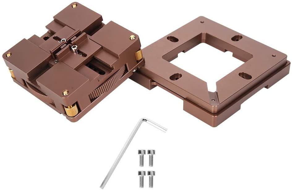 BGA Reballing Station Aluminum Alloy Universal Magnet Stencils Rework Station with Automatic Centering
