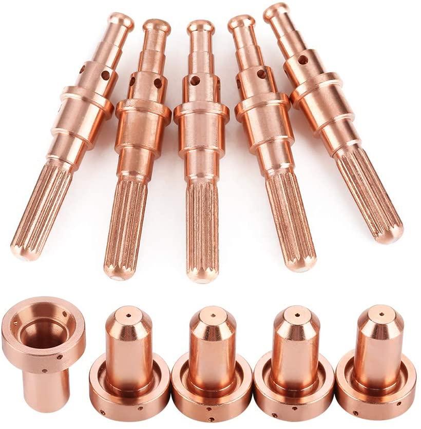 Plasma Cutter Accessories Plasma Nozzle Plasma Cutter Tips, Plasma Nozzle, Plasma Cutter Nozzles Torch Nozzle for Cutting Torch Device