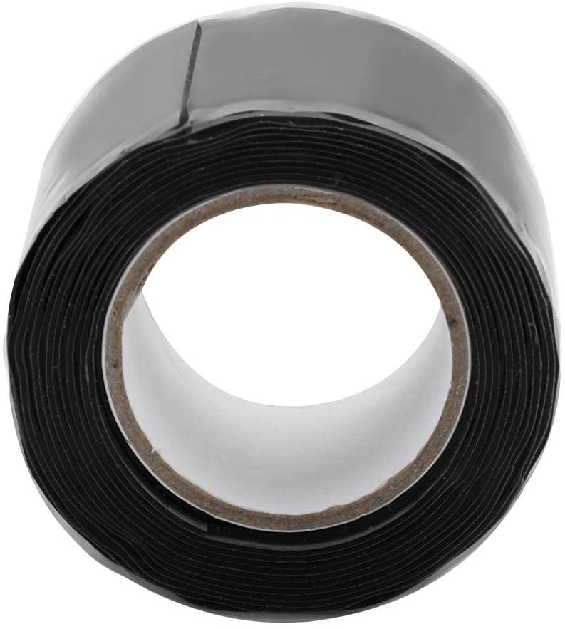 Jacksking Duct Tape, Electrical Cables Connections Waterproof Insulation Heat-Resistant Self-Adhesive Silicone Tape Adhesive(3 m)