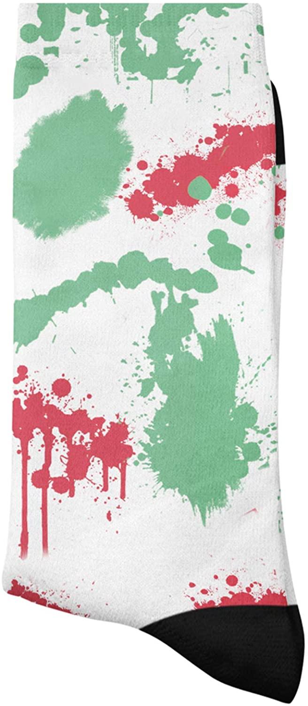 SockThat Tie Dye Socks 1 Pair, Soft Casual Long Socks Fancy Novelty Socks, Multicolor