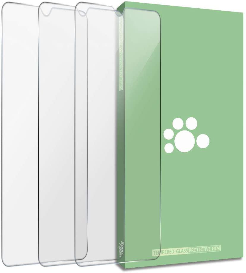 SEEU. AGAIN Screen Protector Fit Huawei Mate 20-(3 Pack) Anti-Fingerprint Ultra-thin Anti-Scratch HD Clear 0.3mm Tempered Glass Protective Film Compatible Mate 20 HMA-AL00 HMA-TL00 HMA-L09 HMA-L29 6.5