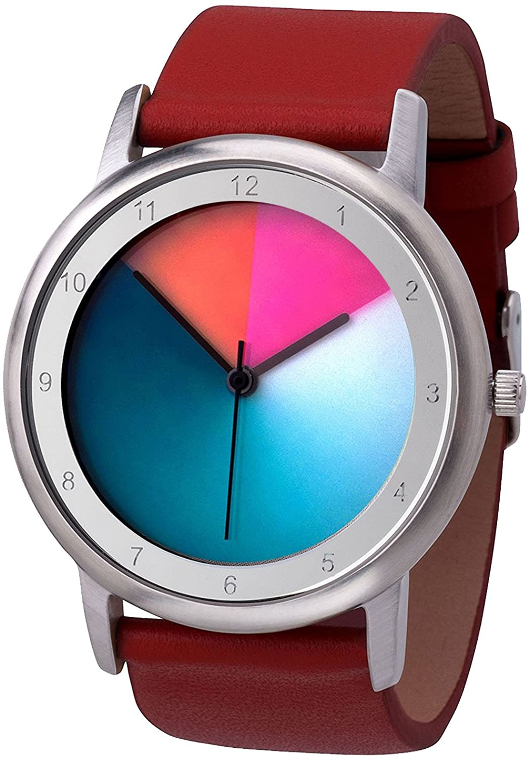Rainbow Watch Avantgardia Unisex Quartz Watch Classic Colorchanging
