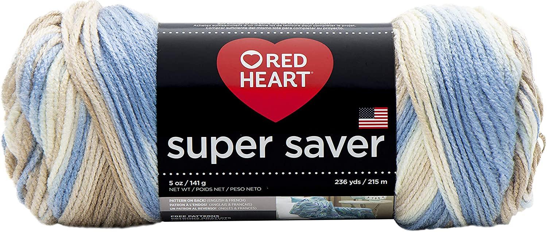 Red HeartSuper Saver Yarn, Mirage