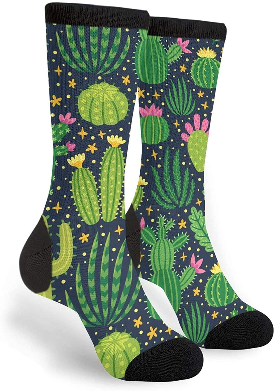 Funny Novelty Crazy Crew Men's Women's Casual Dress Socks