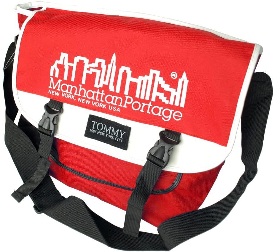 [Nordic Print - Red] Multi-Purposes Messenger Bag / Shoulder Bag