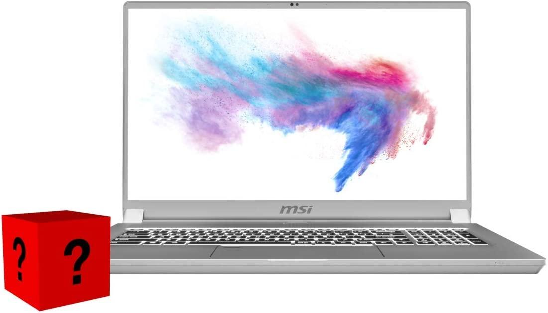 XPC MSI Creator 17 Gamer Notebook Intel Core i7 10th Gen 10875H 32 GB DDR4 2x1 TB 970 PRO NVMe SSD GeForce RTX 2070 Max-Q 17.3