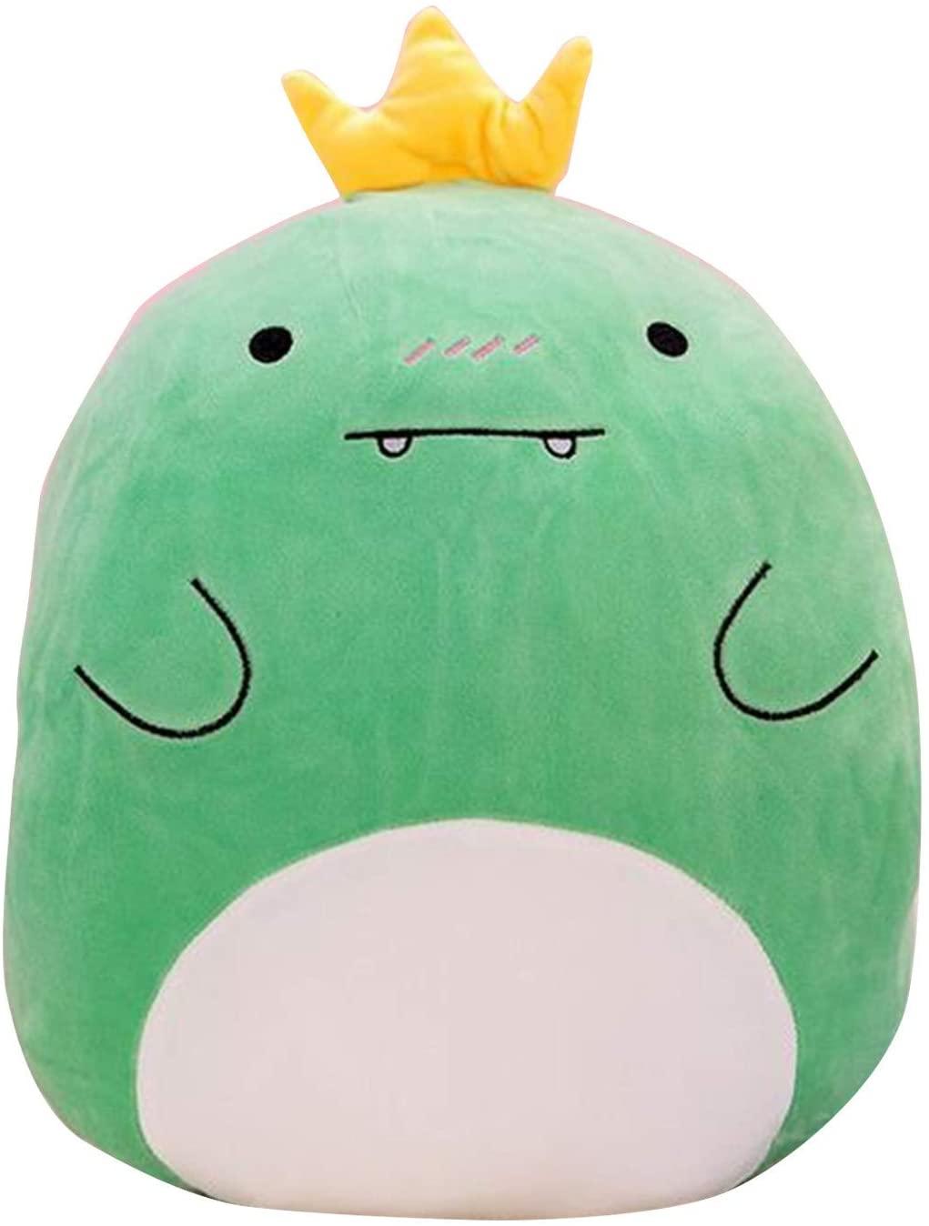 Plush Toys, Kawaii Stuffed Animals, Cute Fluffy Stuffed Animal for Baby, Plush Toys Soft Throw Pillow for Baby, Adult, Kids, Toddler(Dinosaur