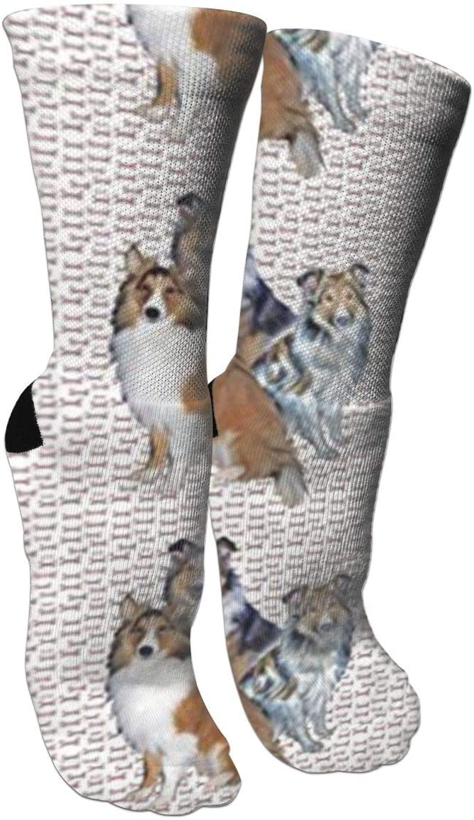 antfeagor Shelties and Bones Compression Socks for Men & Women - Best for Running,Flight Travel, Skiing- Boost Athletic Stamina & Recovery