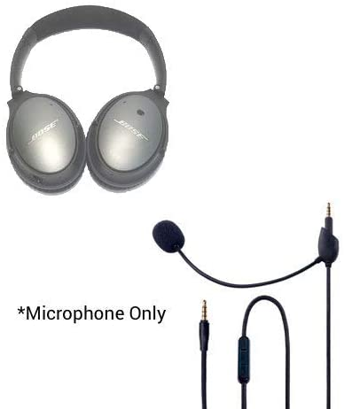 Headset Buddy ClearMic 2 for Bose QC25 - Noise Cancelling Boom Microphone for The QuietComfort 25 Headphones (CM2502)