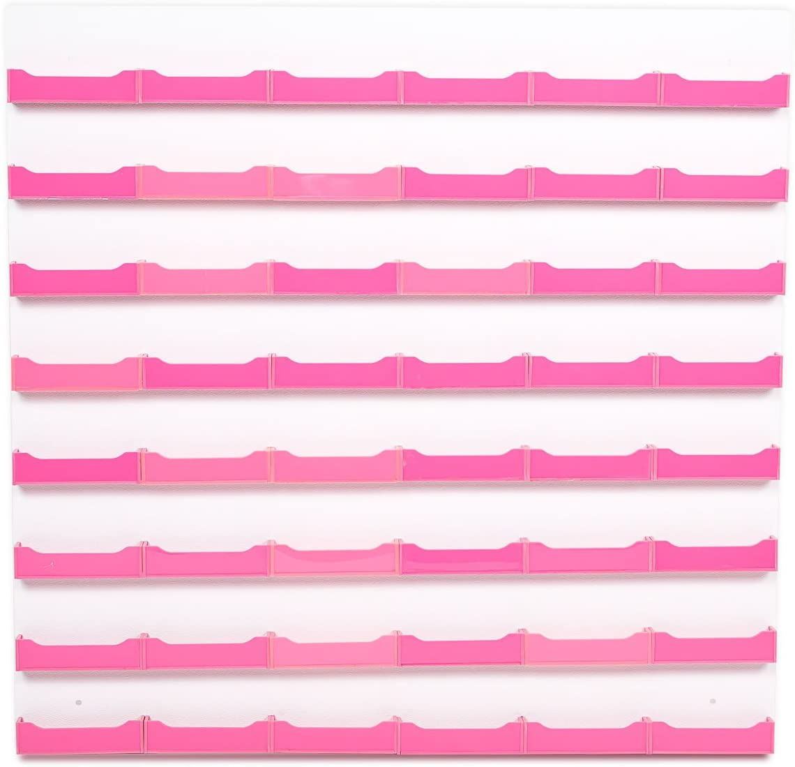 Source One 48-Pocket Wall Mount Business Card Holder (Pink)