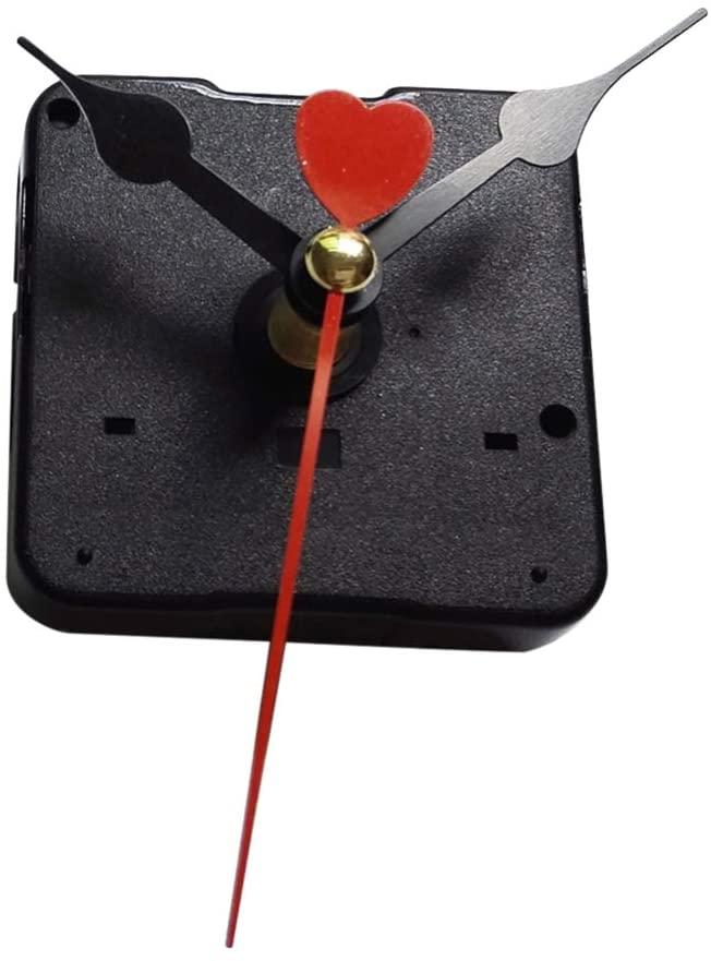 TOYANDONA Wall Clock Movement Mechanism Silent Sweep Quartz Clock Motor Kit for Clock Repair DIY Replacement Custom Clock
