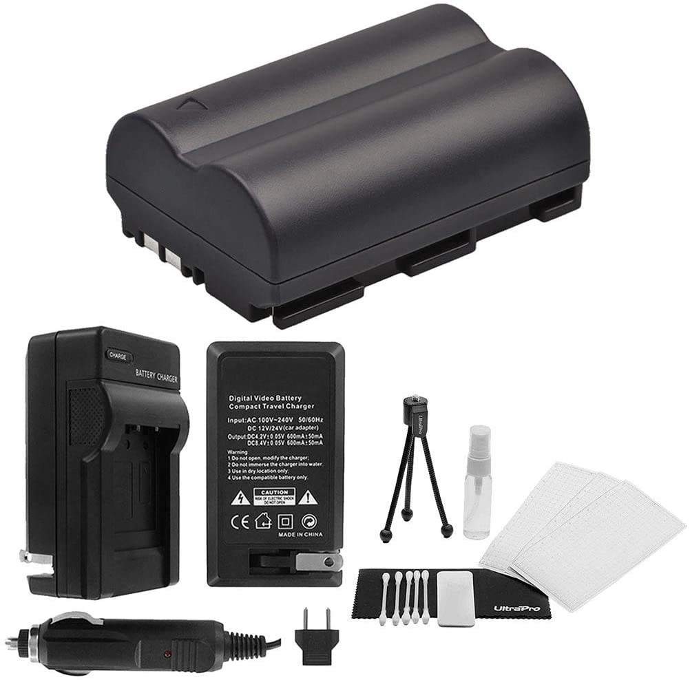 BP-511A High-Capacity Replacement Battery with Rapid Travel Charger for Canon Optura 50MC Optura Pi Optura Xi