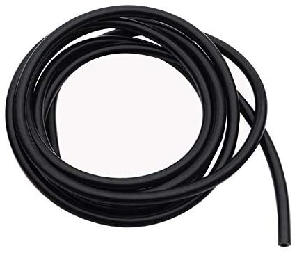 AC PERFORMANCE High Performance Black Silicone Vacuum Tubing Hose, ID 0.16