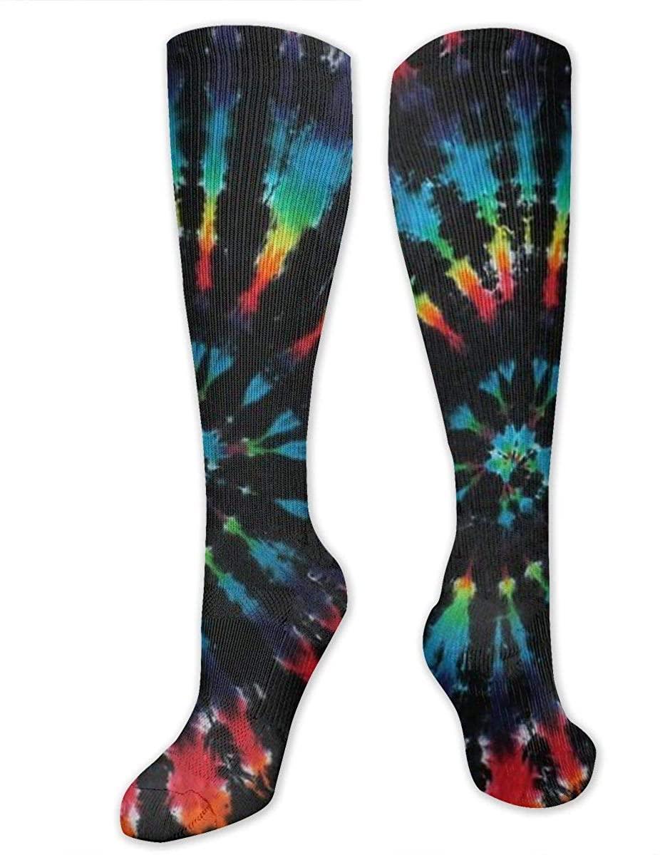 Crazy Funny Novelty Tube Stocking Women Men Athletic Compression Socks