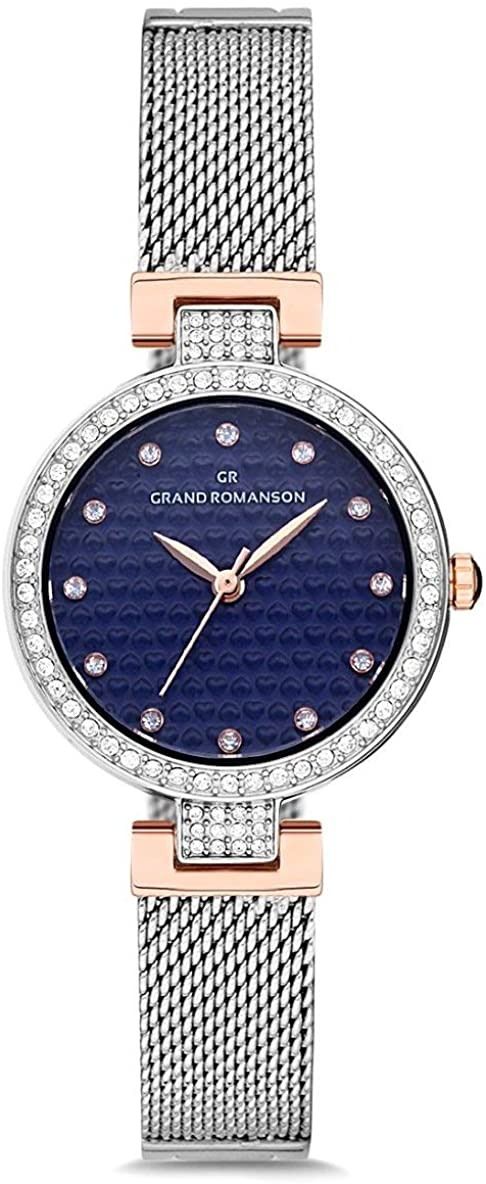 Romanson GR.1.AG1172.06 Swarovski Elements Stone Women's Wrist Watch