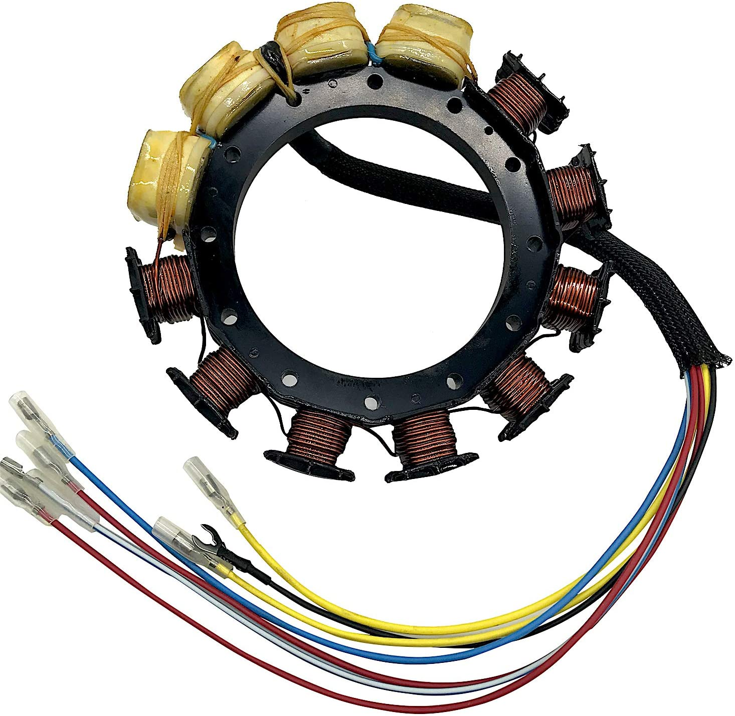 JETUNIT Outboard Stator For 398-9873A36 398-9873A39 398-9873A1 398-9873A3 398-9873A4 174-9873-16 Mercury 210HP 175HP SportJet 16AMP 6 Cyl