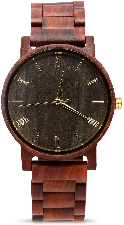 Wood Watch for Men Grain+Oak Customizable Wooden Watches
