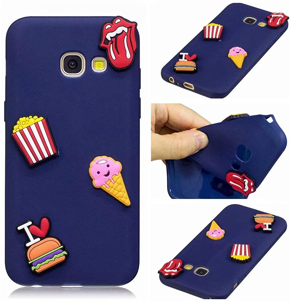 Kingtorn Silicone Phone Case for Galaxy J4 Plus, Soft TPU Ultra Slim Fit Cute for Women Girl Bumper Shock Absorber Anti-Scratch Back Cover Case for Samsung Galaxy J4 Plus