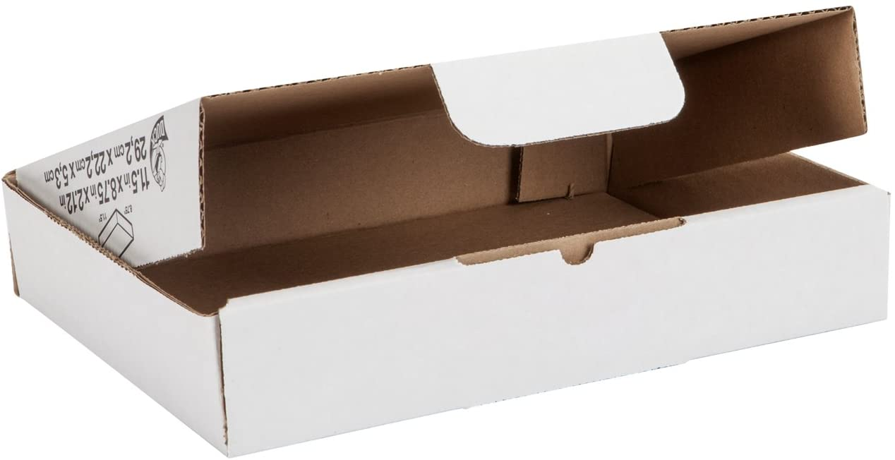 Duck Brand Self-Locking Mailing Boxes, Literature Size, 11.5