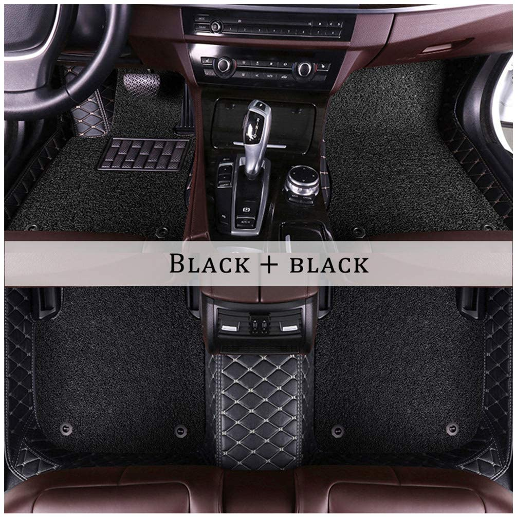 WANLING Car Winter Floor Mats for Nissan Rogue 2014-2019 Floor Liner Carpet Anti-Static Waterproof Dust-Proof Anti-Slip Car Mats