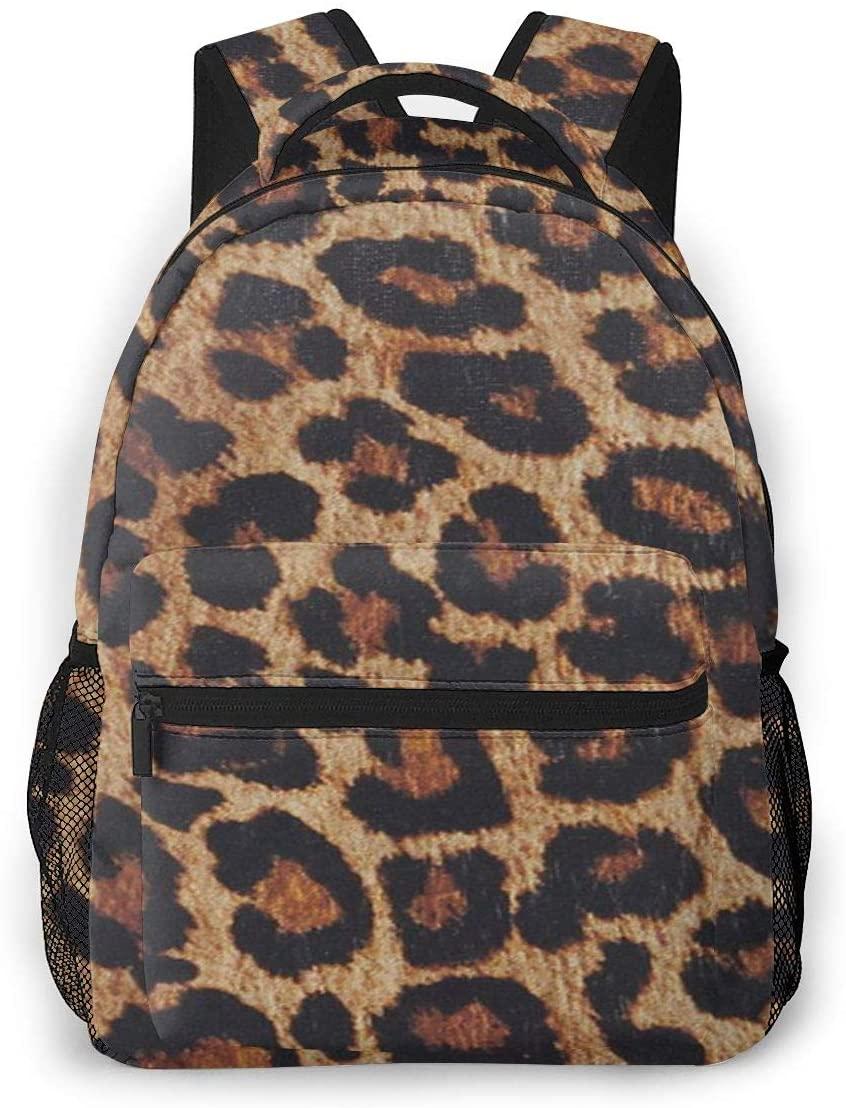 Other1 Fashion Lightweight Backpack for School,Travel Backpack Laptop Backpack for Women Men Leopard Print