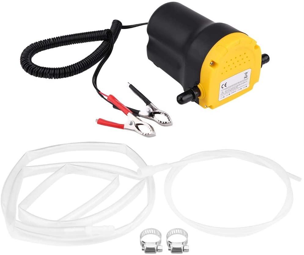 Pump Electric - Dc 12v 60w Fluid Extractor Motor Oil Diesel Transfer Pump 250l/Hour For Car Motorbike Quad