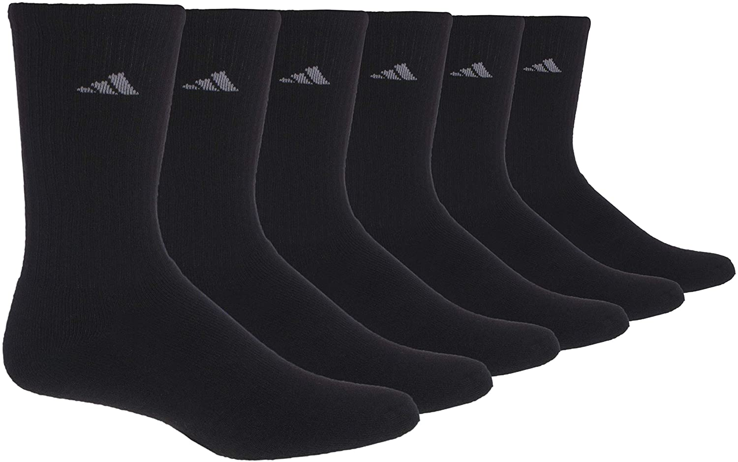 adidas Womens Athletic Crew Sock (6-Pack)