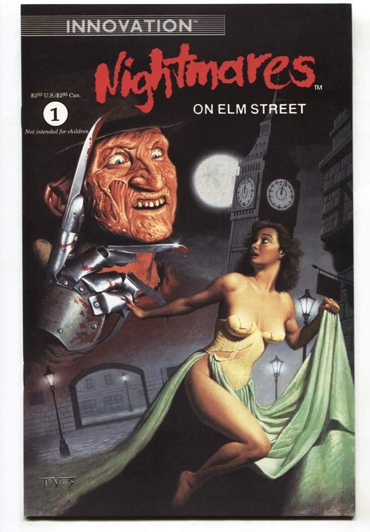 Nightmares on Elm Street #1 1991 First issue-Freddy Krueger