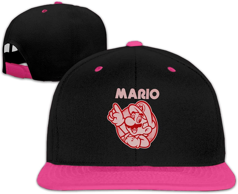 Unisex Super Mario Top Baseball Cap Adjustable Hat