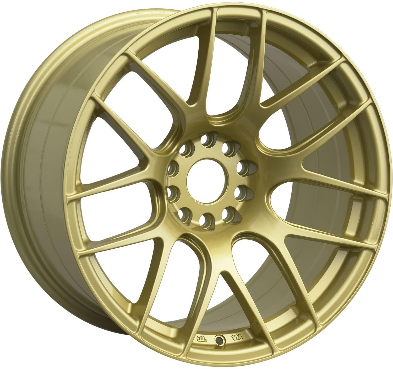 XXR 530 Gold (17x7) +35 (5x100/5x4.5)