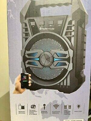 Bluetooth Speaker Angel 4 with Mic Fm Radio USB 700 Watts 800mAh LED Light