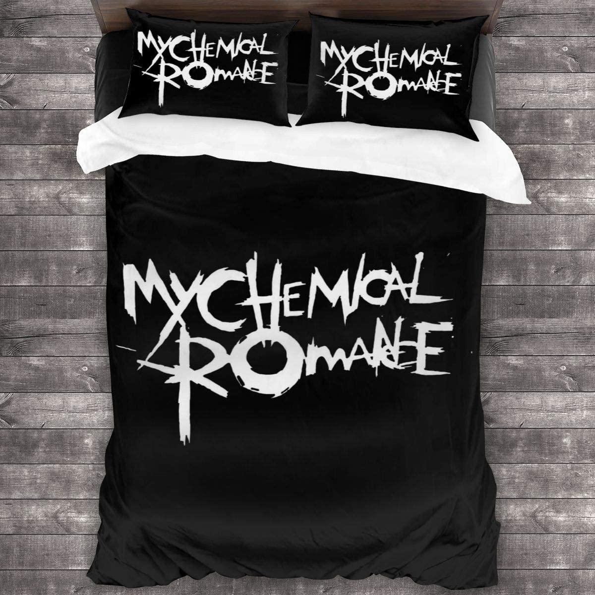 Tappetino My Chemical Romance Comforter Set, 3-Piece Bedding Set, 86