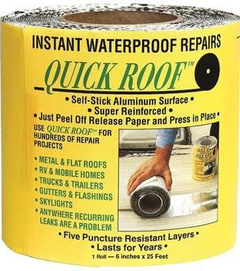 Quick Roof Self Stick Instant Waterproof Repair & Flashing (QR625)
