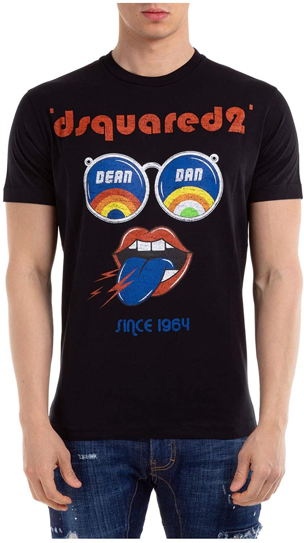 DSQUARED2 Sunglass Print T-Shirt