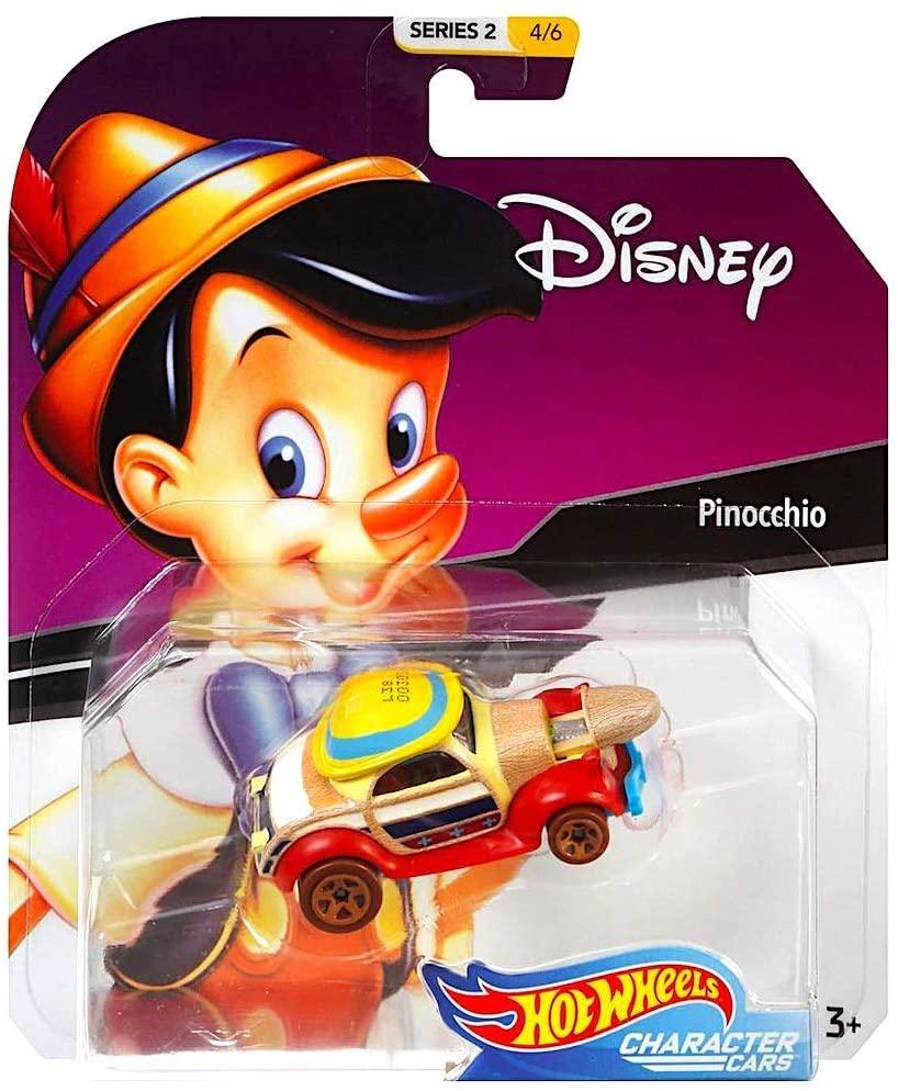 Hot Wheels Character Cars Disney Pinocchio Vehicle Series 2 4/6