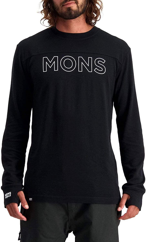 Mons Royale Yotei Tech Long-Sleeve Top - Men's