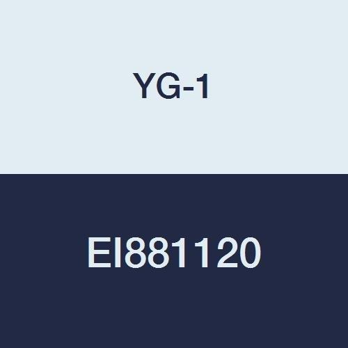 YG-1 EI881120 12.0 mm Carbide D-Power Ball Nose End Mill, 3 Flute, Short Length, 90 mm Length