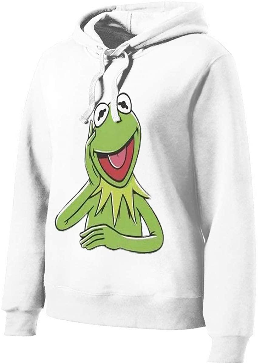 Kermit The Frog Face Women's Hoodie Women's Printed Sweatshirt (Without Pocket)