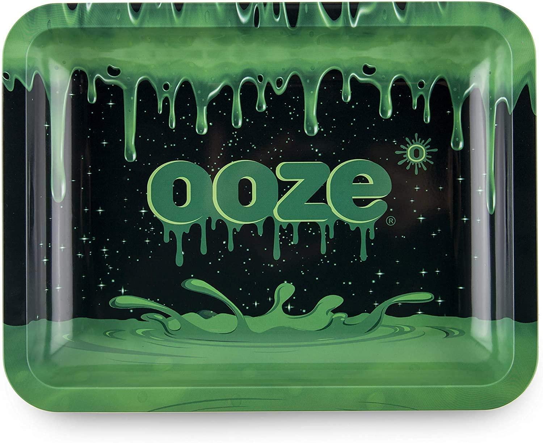 Ooze Life Rolling Tray Medium- (Ooze Logo) 10