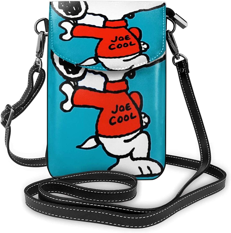 Kuritian Small Crossbody Bags Cell Phone Pursesnoopy Print With Credit Card Slots