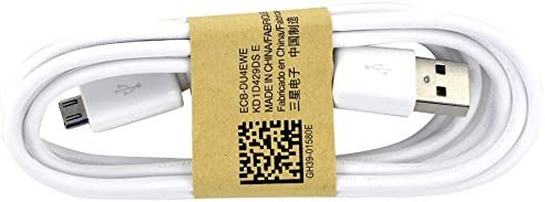 Samsung 3.3 Ft. Cable Micro USB Data Cable for Galaxy S3/S4/Note 2 & Other Smartphones - Non-Retail Packaging - White