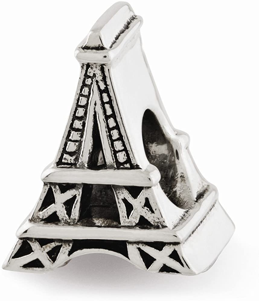Sterling Silver s Eiffel Tower Bead by Reflection Beads