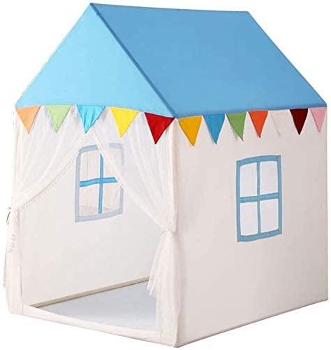 BESTSUGER Children Tent Castle Tent, Child Split-Bed Artifact Tent Game House Outdoor Toy Room Boys and Girls Indoor Reading Corner Children Play Tent (Size : 80110120CM)
