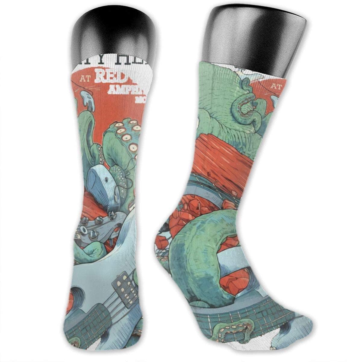 Dirty Heads Long Socks Novelty Cool Cotton Warm Winter Compression Socks for Women Men