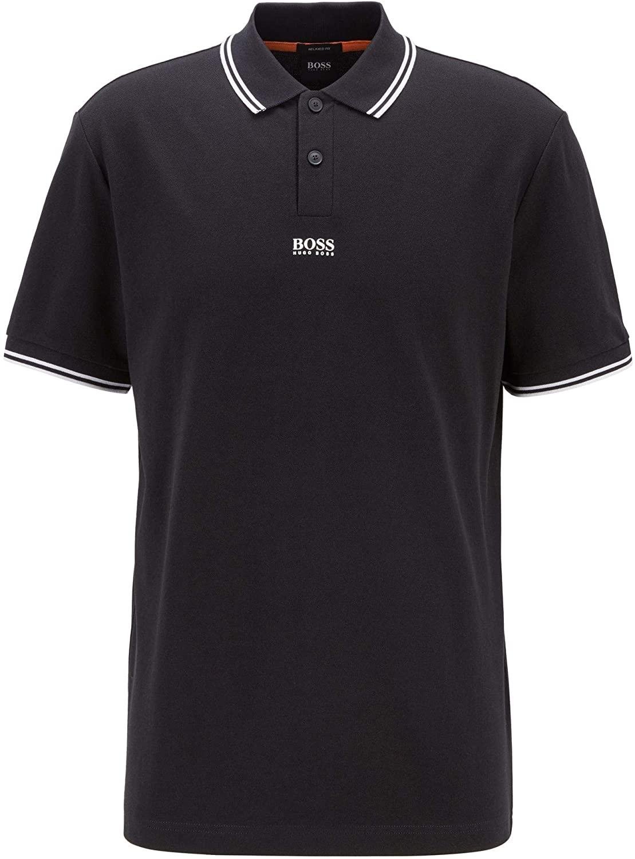 Hugo BOSS PChup Polo Shirt in Black